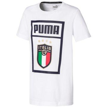 Puma Fan-T-Shirts weiß
