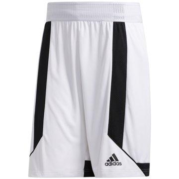 adidas BasketballshortsC365 SHORT - DX6380 weiß
