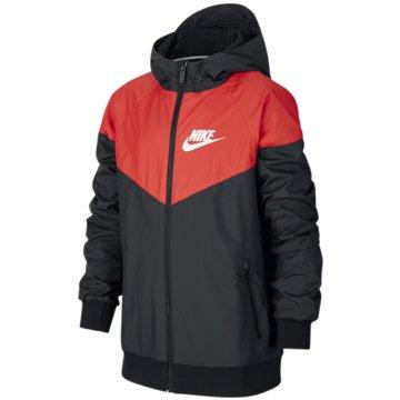 Nike FunktionsjackenBoys' Nike Sportswear Windrunner Jacket - 850443-012 schwarz
