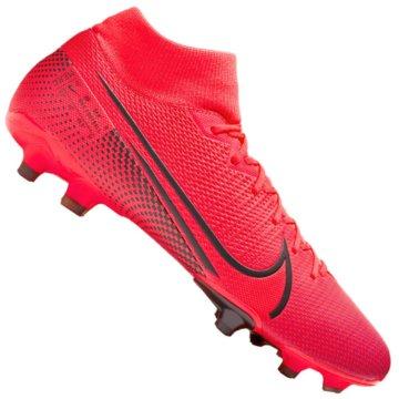 Nike Nocken-SohleNIKE MERCURIAL SUPERFLY 7 ACADEMY M rot