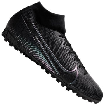 Nike Multinocken-SohleNike Mercurial Superfly 7 Academy TF - AT7978-010 schwarz