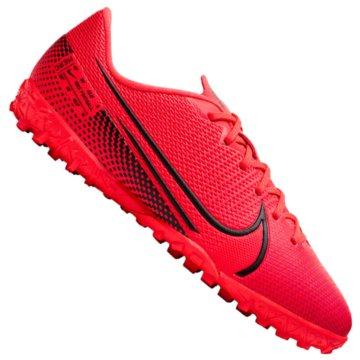 Nike Multinocken-SohleNike Jr. Mercurial Vapor 13 Academy TF - AT8145-606 rot
