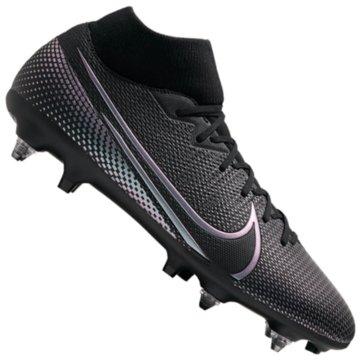 Nike Stollen-SohleNike Mercurial Superfly 7 Academy SG-PRO Anti-Clog Traction - BQ9141-010 schwarz