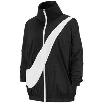 Nike ÜbergangsjackenW NSW SWSH JKT WVN CB - BV3685 schwarz