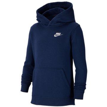 Nike HoodiesB NSW HOODIE PO CLUB - BV3757 blau