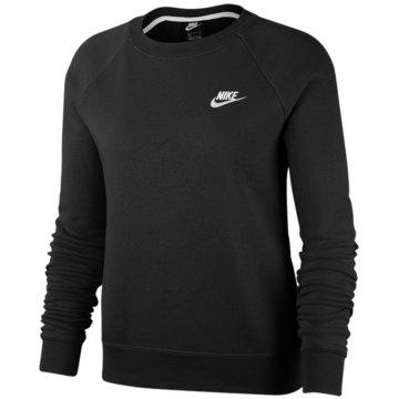 Nike SweatshirtsW NSW ESSNTL CREW FLC - BV4110 schwarz