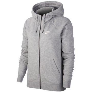 Nike SweatjackenW NSW ESSNTL HOODIE FZ FLC - BV4122 grau