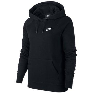 Nike HoodiesW NSW ESSNTL HOODIE PO FLC - BV4124 schwarz