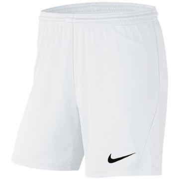 Nike FußballshortsPark III Knit Short NB Women weiß