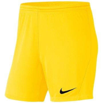 Nike FußballshortsPark III Knit Short NB Women gelb