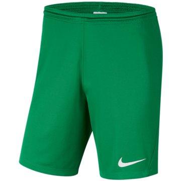 Nike FußballshortsDRI-FIT PARK 3 - BV6865-302 grün