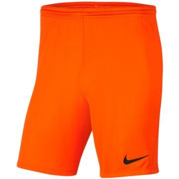 Nike FußballshortsDRI-FIT PARK 3 - BV6865-819 orange