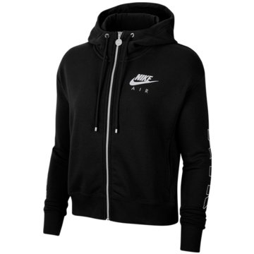 Nike SweatjackenAir Full Zip Fleece Hoody schwarz