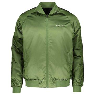 Nike SweatjackenSportswear Swoosh Bomber Jacket grün