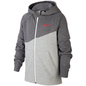 Nike SweatjackenB NSW SWOOSH HOODIE FZ FT - CJ6968 grau