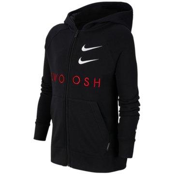 Nike SweatjackenNike Sportswear Swoosh Big Kids' (Boys') Full-Zip Hoodie - CT9452-010 schwarz