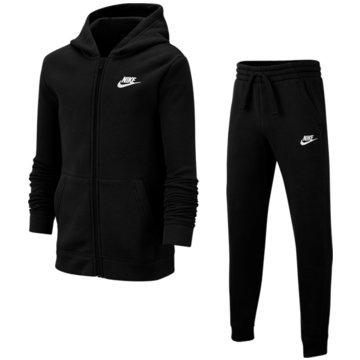 Nike JogginganzügeB NSW TRK SUIT CORE BF - BV3634 schwarz