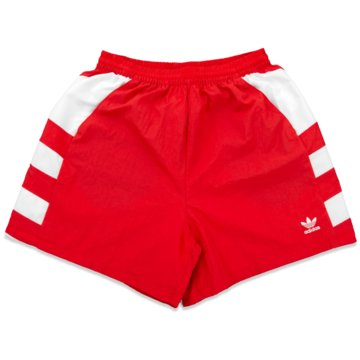 adidas kurze Sporthosen rot