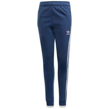 adidas TrainingshosenSUPERSTAR PANTS - FM5677 blau