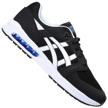 asics Sneaker Low schwarz
