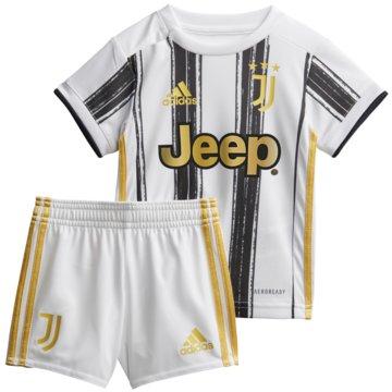 adidas FußballtrikotsJuventus Turin Mini-Heimausrüstung - EI9895 -