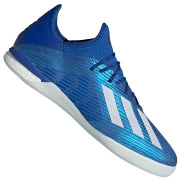 adidas Hallen-SohleX 19.1 Boost IN blau