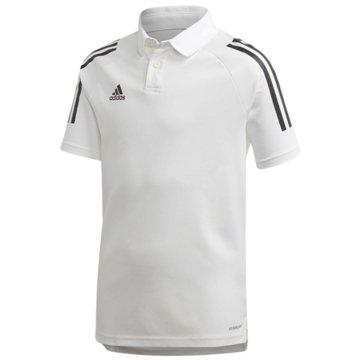 adidas PoloshirtsCON20 POLO Y - EA2515 weiß