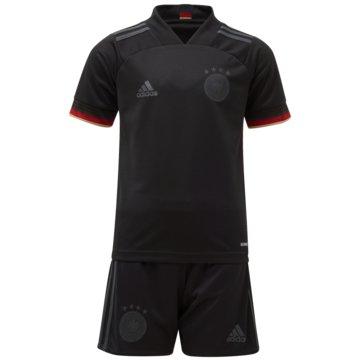 adidas FanartikelDFB MINI-AUSWÄRTSAUSRÜSTUNG - EH6109 schwarz