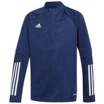 adidas PulloverCON20 TR TOP Y - FS7124 blau