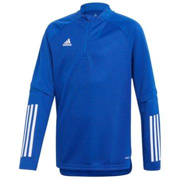 adidas PulloverCON20 TR TOP Y - FS7128 blau