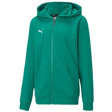 Puma Sweatjacken grün