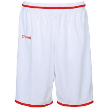 Spalding Basketballshorts weiß
