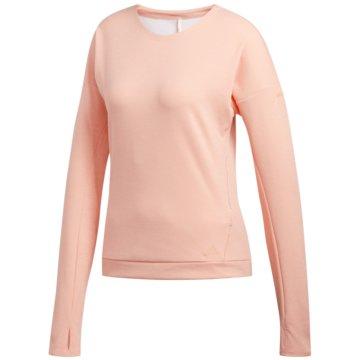 adidas SweatshirtsSN RUN CRU W - DZ4919 coral