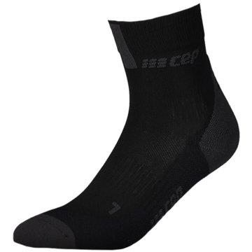 CEP Hohe Socken SHORT SOCKS 3.0, BLUE/GREY, MEN - WP5BX schwarz