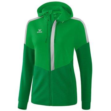 Erima SweaterSQUAD TRAININGSJACKE MIT KAPUZE - 1032063 grün