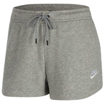 Nike kurze SporthosenNike Sportswear Essential Women's French Terry Shorts - CJ2158-063 grau