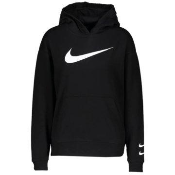 Nike HoodiesNike Sportswear Swoosh - CJ3761-010 schwarz