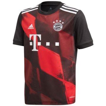 adidas FußballtrikotsFC BAYERN MÜNCHEN 20/21 AUSWEICHTRIKOT - FR4011 schwarz