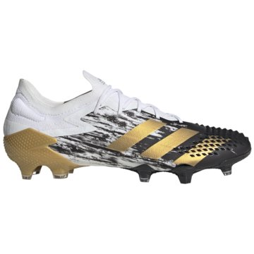 adidas Stollen-SohlePredator Mutator 20.1 Low FG weiß