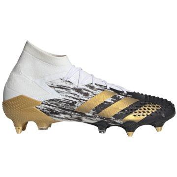 adidas Stollen-SohlePredator Mutator 20.1 SG weiß