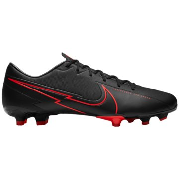 Nike Nocken-SohleNike Mercurial Vapor 13 Academy MG Multi-Ground Soccer Cleat - AT5269-060 schwarz
