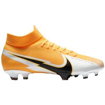 Nike Nocken-SohleNike Mercurial Superfly 7 Pro FG Firm-Ground Soccer Cleat - AT5382-801 orange