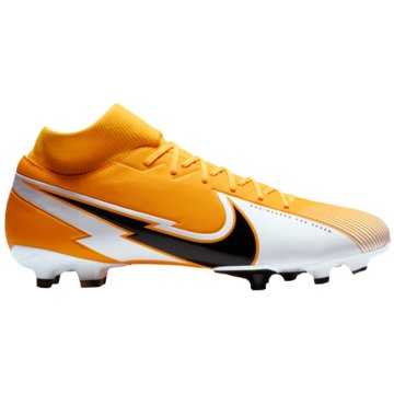 Nike Nocken-SohleNike Mercurial Superfly 7 Academy MG Multi-Ground Soccer Cleat - AT7946-801 orange