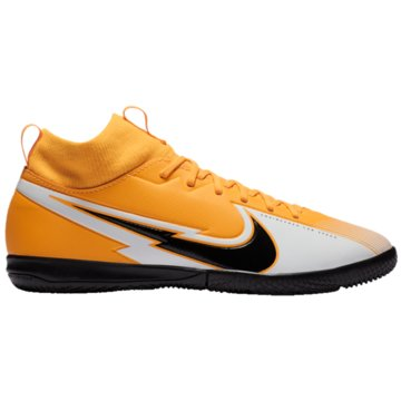 Nike Hallen-SohleNike Jr. Mercurial Superfly 7 Academy IC Kids' Indoor/Court Soccer Shoe - AT8135-801 gelb
