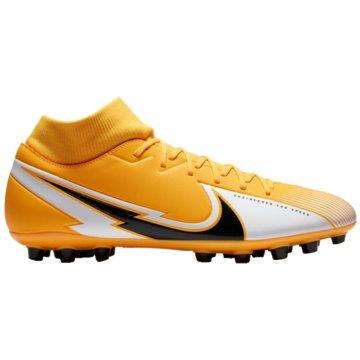 Nike Nocken-SohleNike Mercurial Superfly 7 Academy AG Artificial-Grass Soccer Cleat - BQ5424-801 orange