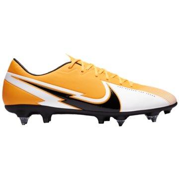 Nike Stollen-SohleNike Mercurial Vapor 13 Academy SG-PRO Anti-Clog Traction Soft-Ground Soccer Cleat - BQ9142-801 orange