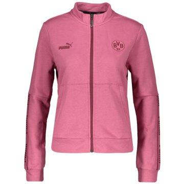 Puma SweatshirtsBVB FTBLCULTURE TRACK JACK - 759896 pink