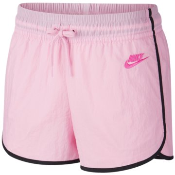 Nike kurze Sporthosen rosa