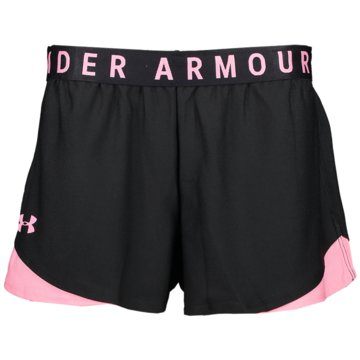 Under Armour kurze SporthosenPlay Up Shorts 3.0 Women schwarz