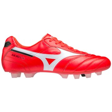 Mizuno Nocken-SohleMORELIA II JAPAN (SHORT TONGUE) - P1GA2001 rot